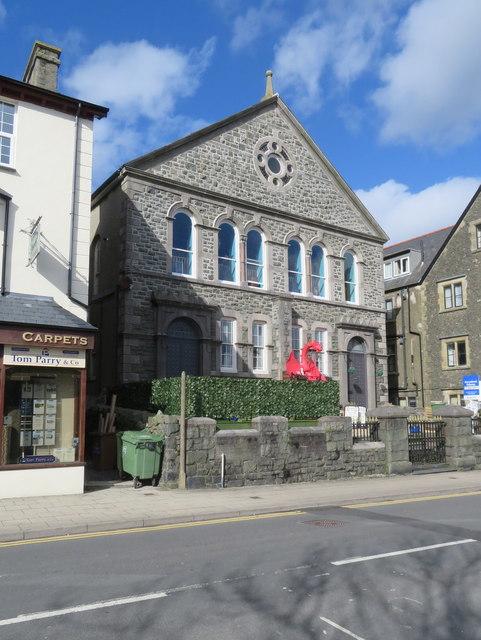 Former Capel Mawr, High Street, Criccieth