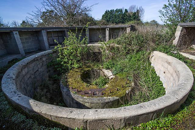 WWII Hampshire: Hayling Island - Northney Heavy Anti-Aircraft Battery (7)