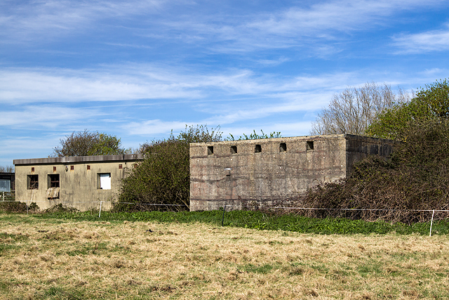 WWII Hampshire: Hayling Island - Northney Heavy Anti-Aircraft Battery (11)