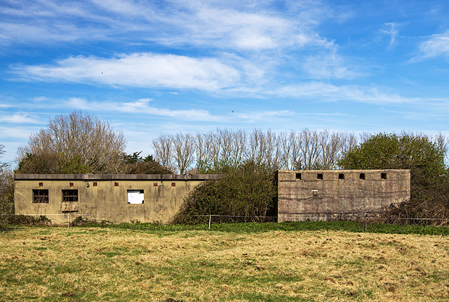 WWII Hampshire: Hayling Island - Northney Heavy Anti-Aircraft Battery (12)