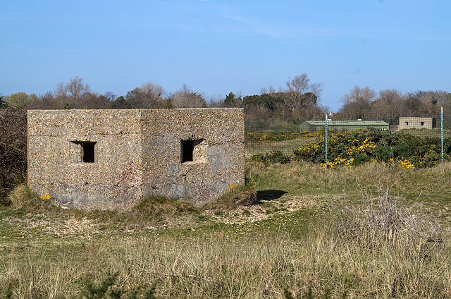 WWII Hampshire: Hayling Island - Sinah Common pillbox nos. 2 & 3 (29)