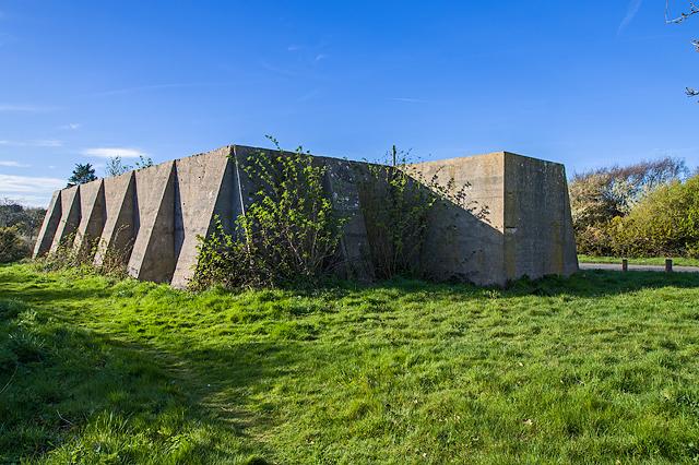 WWII Hampshire: Hayling Island - Sinah Heavy Anti-Aircraft Battery (37)