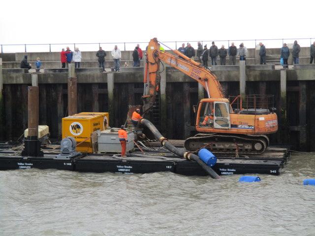 West Bay dredging 2017
