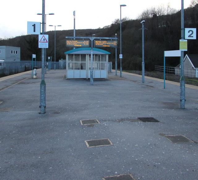 In Abercynon Rhondda Cynon Taf: Abercynon Railway Station © Jaggery :: Geograph Britain