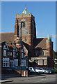 TQ3193 : Church of St John the Evangelist, Palmers Green by Julian Osley