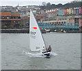 ST5772 : A stiff breeze by Anthony O'Neil