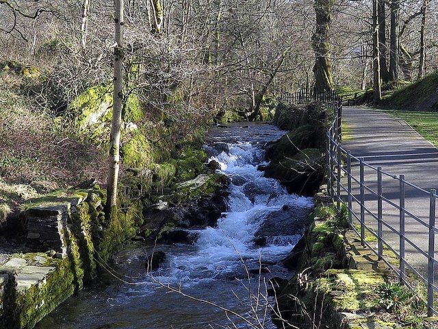 Stock Ghyll, Rothay Park