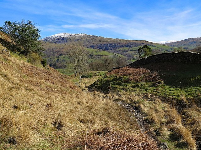East of Loughrigg Fell