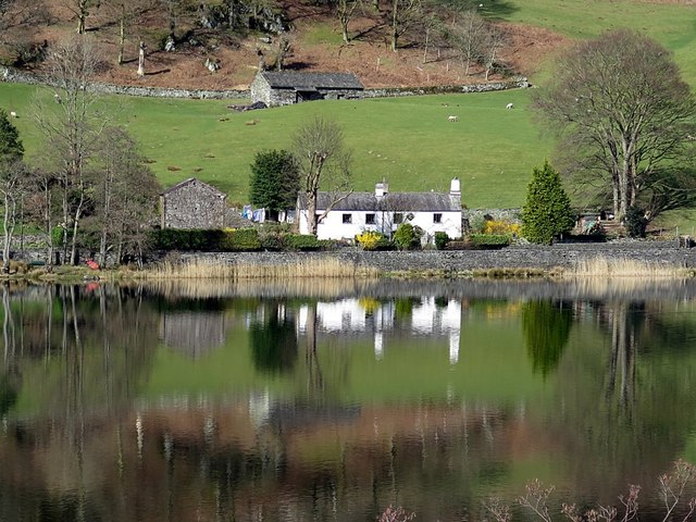 Nab Cottage, across Rydal Water