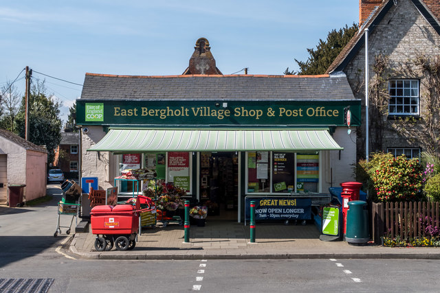 Village Shop, East Bergholt