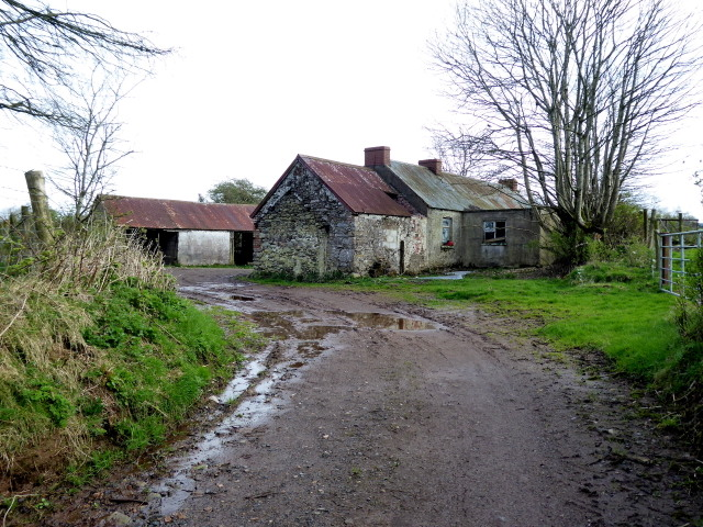 Derelict farm buildings, Roscavey