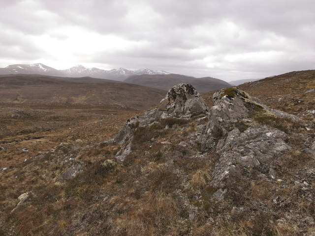 Trackless terrain of the Strathconon Forest