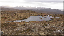 NH2950 : Lochan in an empty landscape, Strathconon Forest by Julian Paren