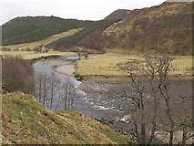 NH2853 : River Meig near Glean Meinich in Strathconon by Julian Paren