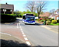 ST3094 : Anslow Bus & Coach Travel bus in Llanyravon, Cwmbran by Jaggery