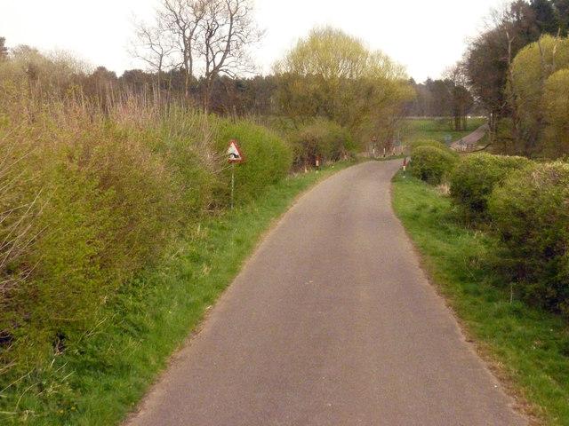 A small bridge en route to Langford