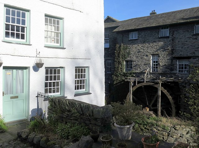 Water wheel on Stock Ghyll, Ambleside