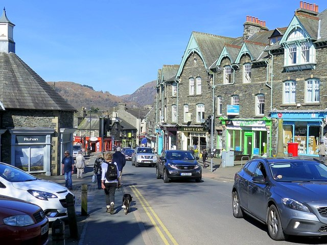 Traffic building in Ambleside