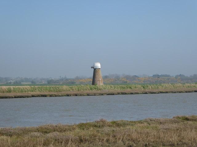 Old windpump on Reydon Marshes