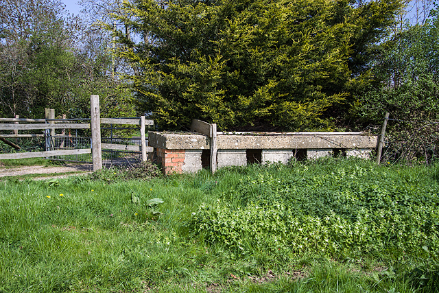 WWII Hampshire: environs of Havant & Emsworth - Comley Hill area pillbox no. 2 (9)