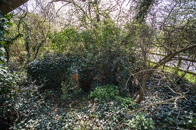 WWII Hampshire: environs of Havant & Emsworth - Comley Hill area pillbox no. 3 (12)