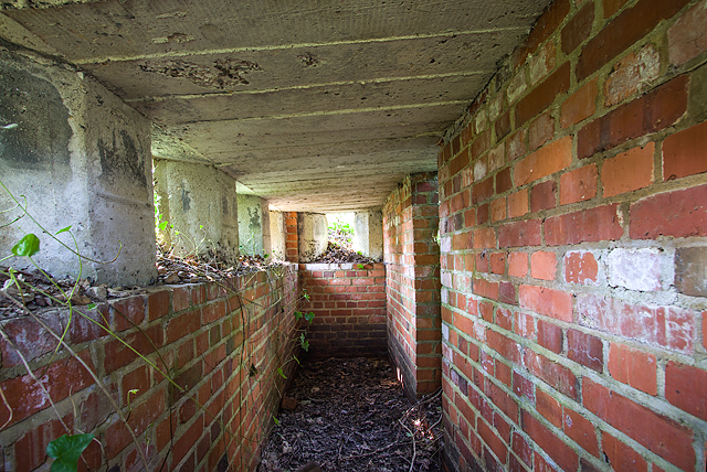 WWII Hampshire: environs of Havant & Emsworth - Comley Hill area pillbox no. 3 (14)