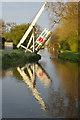 SJ5847 : Wrenbury Frith Lift Bridge, Llangollen Canal by Stephen McKay