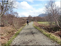 NG8778 : Riding eastwards from Inveran by Richard Law
