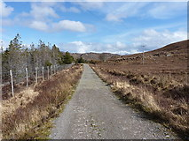 NG8878 : Towards Loch na h-Airde Bige by Richard Law