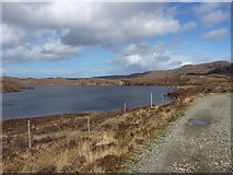 NG8879 : Southern end of Loch Kernsary by Richard Law