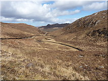 NG8978 : The valley of the Abhainn Tholldhoire by Richard Law