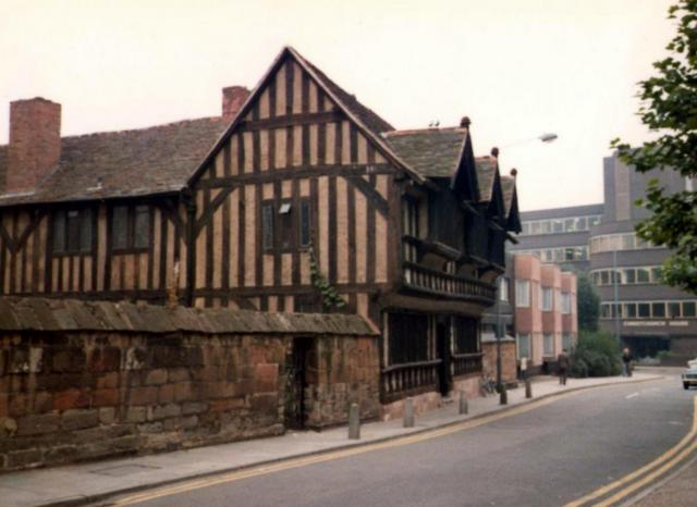 Ford's Hospital, Greyfriars Lane, 1981