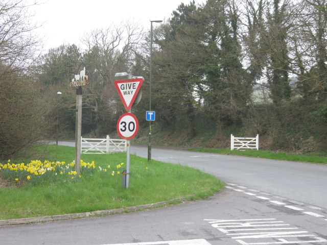 The road to Pycombe