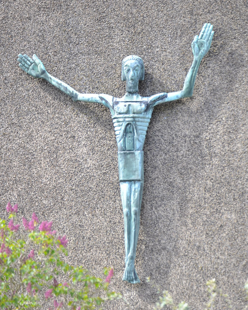 St Oswald's Church, Jardine Crescent, Tile HIll, west Coventry – the Risen Christ
