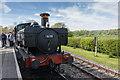 TQ7824 : Steam Locomotive, Bodiam,  East Sussex by Christine Matthews