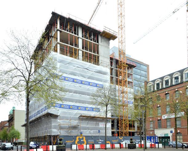Former College of Business Studies site, Belfast - April 2017 (2)