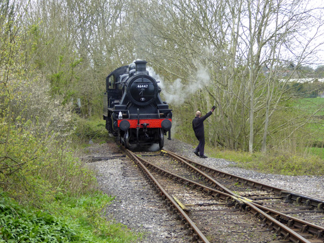 The end of the line, East Somerset Railway