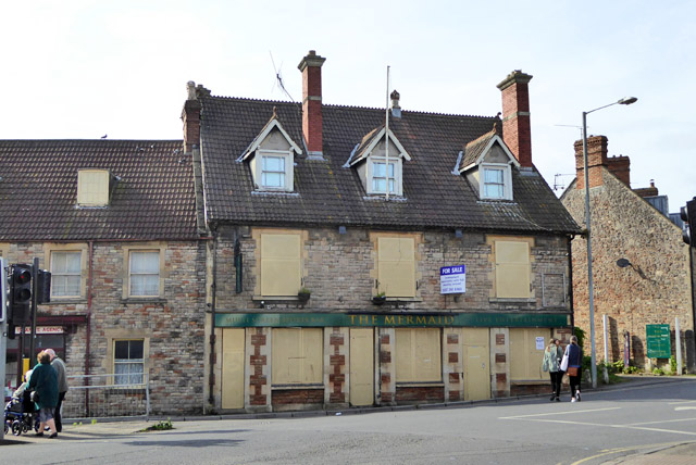 The Mermaid, Wells (closed)