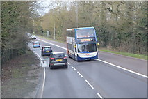TL4159 : A1303, Madingley Rd by N Chadwick