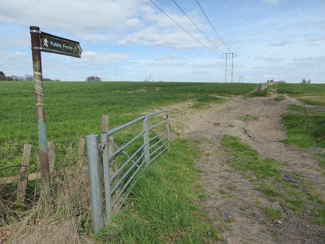 Footpath off Hewell Lane