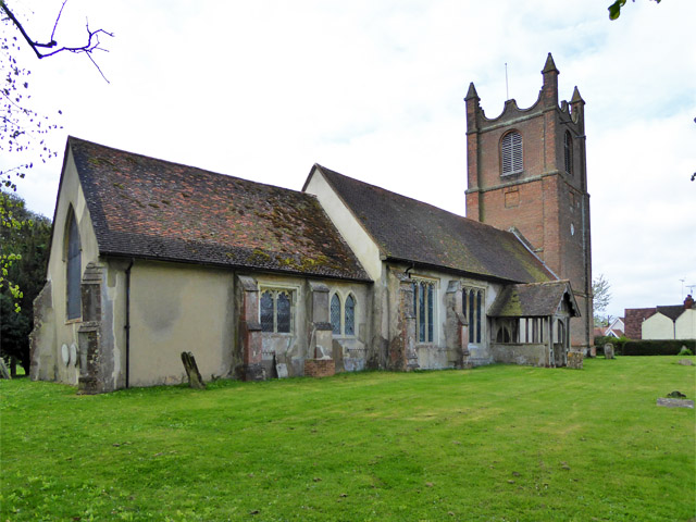 Toppesfield church