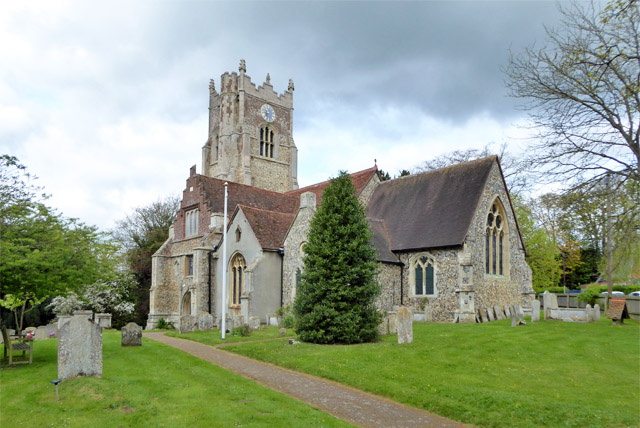 Great Yeldham church