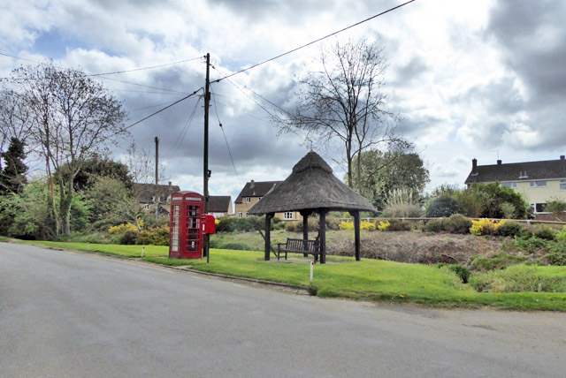 Village street furniture, North End, Little Yeldham
