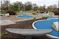 NX9775 : Mini Golf at Dock Park, Dumfries : Week 16