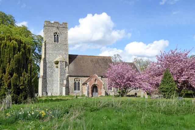 Stoke Ash church