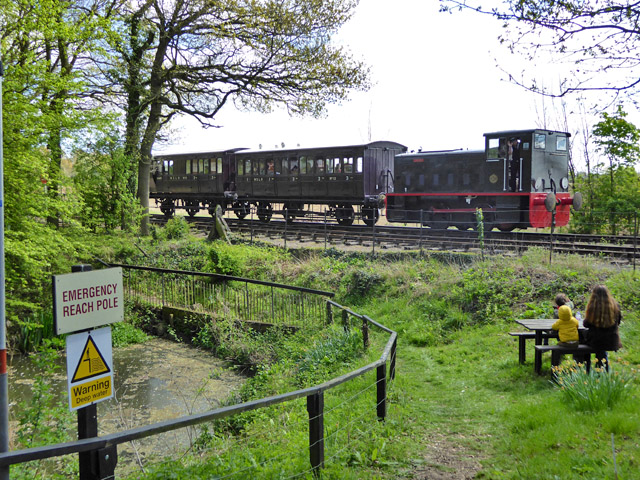 Train, Mid Suffolk Light Railway