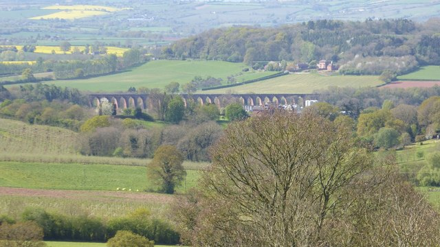 View of Ledbury Viaduct