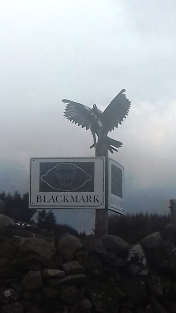 The entrance to Blackmark Farm