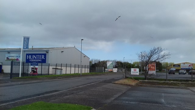Boundary Road Industrial Estate, Ayr