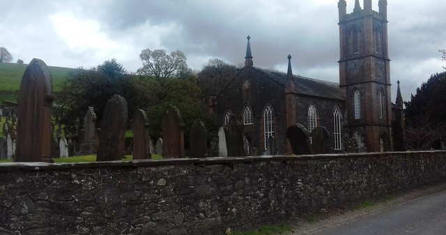 Graveyard at Glencairn Parish Church